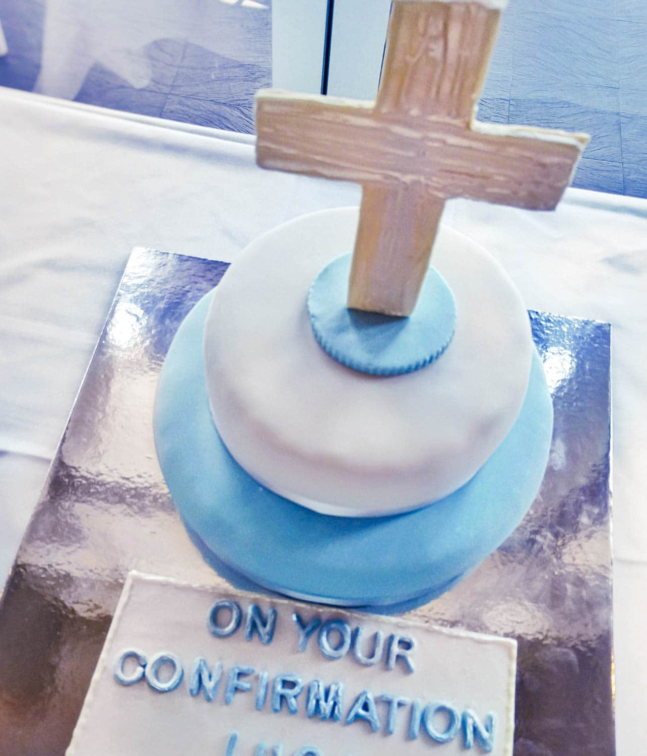 Confirmation cake and food restaurant Fremantle Perth