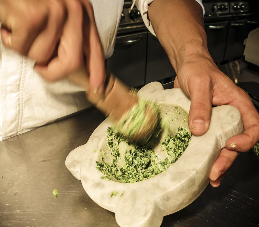 How to make Pesto Recipe Traditional Italian Perth